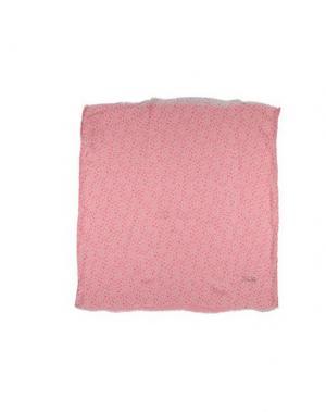 Платок TWIN-SET Simona Barbieri. Цвет: розовый