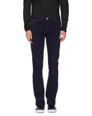 Джинсовые брюки PAUL SMITH JEANS. Цвет: темно-фиолетовый