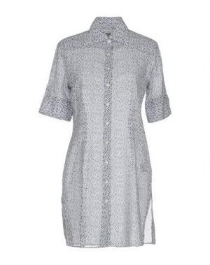 Короткое платье INGRAM. Цвет: темно-синий