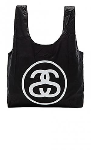 Ss link fold up bag Stussy. Цвет: черный
