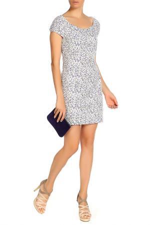 Платье LASKANY collezioni. Цвет: колокольчик