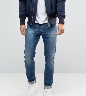 Noak Синие облегающие джинсы. Цвет: синий