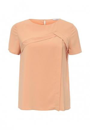Блуза Emka. Цвет: оранжевый