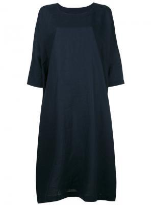 Oversized T-shirt dress Daniela Gregis. Цвет: синий