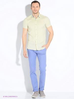 Рубашка Dairos. Цвет: желтый