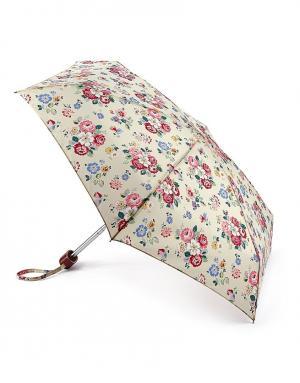Зонт механический Цветы  by Fulton Cath Kidston. Цвет: бежевый