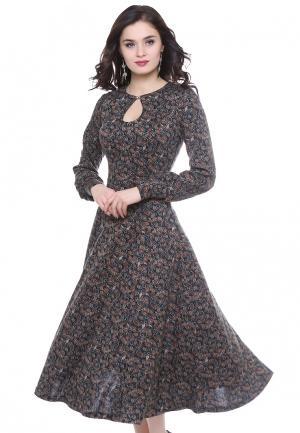 Платье Grey Cat. Цвет: разноцветный