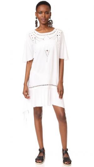 Восточный халат Gabi ViX Swimwear. Цвет: белый