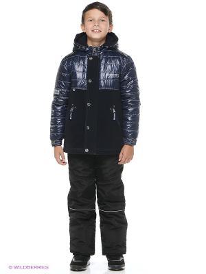 Куртка SAIMA. Цвет: темно-синий