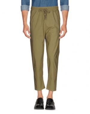 Повседневные брюки C.Y.H. CLAP YOUR HAND. Цвет: зеленый-милитари