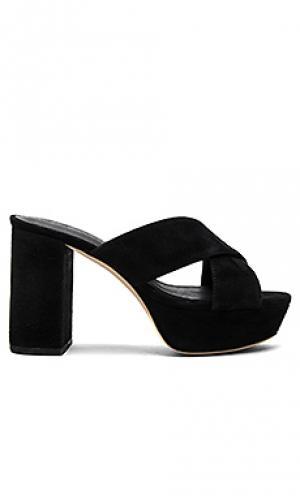 Туфли на каблуке petra RAYE. Цвет: черный