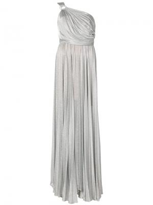 Платье Baylee Maria Lucia Hohan. Цвет: металлический