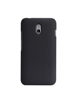 Накладка для HTC Desire 210 Super Frosted Shield Nillkin. Цвет: черный