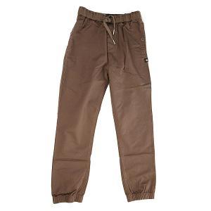 Штаны прямые детские DC Langdale Taupe Shoes. Цвет: коричневый