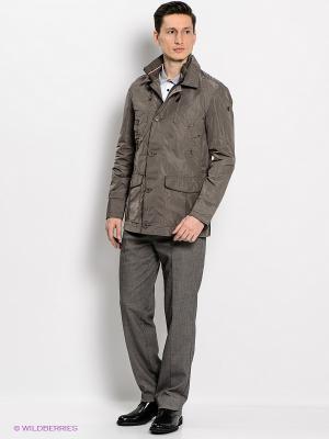 Куртка SAVAGE. Цвет: коричневый