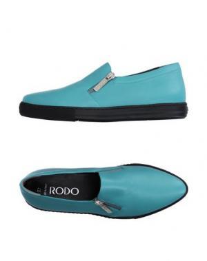 Низкие кеды и кроссовки RODO. Цвет: бирюзовый