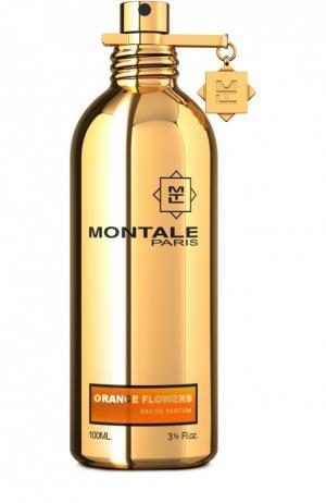 Парфюмерная вода Orange Flowers Montale. Цвет: бесцветный