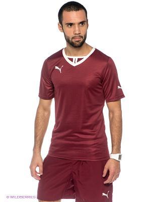 Футболка SMU Rubin Kazan B2B Shirt Puma. Цвет: бордовый