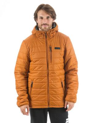 Куртка MELT ANTI JACKET Rip Curl. Цвет: горчичный, рыжий