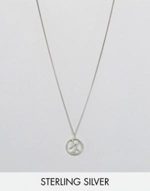 Fashionology Ожерелье с зодиакальной подвеской Козерог. Цвет: серебряный