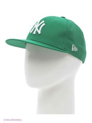 Кепки New Era. Цвет: зеленый