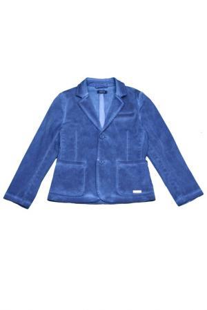 Пиджак FuN&FuN. Цвет: синий