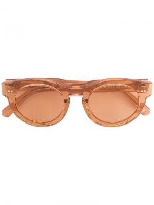 Солнцезащитные очки Chimi. Цвет: жёлтый и оранжевый