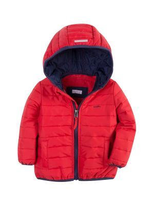 Куртка стеганая Endo. Цвет: красный