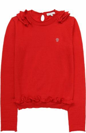 Пуловер джерси I Pinco Pallino. Цвет: красный