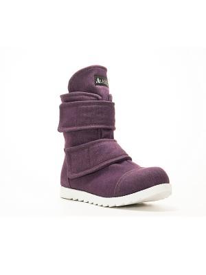 Ботинки AZ-ART. Цвет: сиреневый