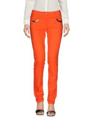 Повседневные брюки FRANKIE MORELLO. Цвет: оранжевый