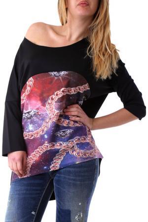 Блуза BRAY STEVE ALAN. Цвет: черный