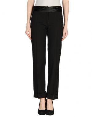 Повседневные брюки AINOS. Цвет: черный