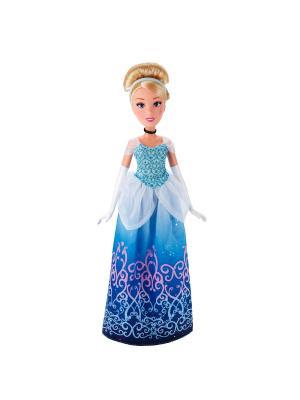 Классическая модная кукла Принцесса Золушка Hasbro. Цвет: голубой, золотистый