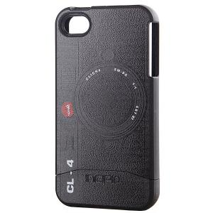 Чехол для Iphone  Cliche Camera Edge 4 Case Black Incipio. Цвет: черный