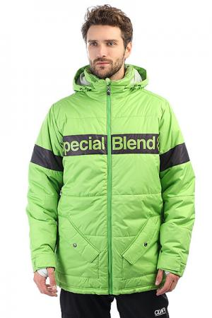 Куртка утепленная  Bender Mojito Special Blend. Цвет: зеленый