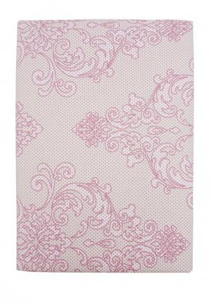 Комплект постельного белья Семейный Mona Liza. Цвет: розовый