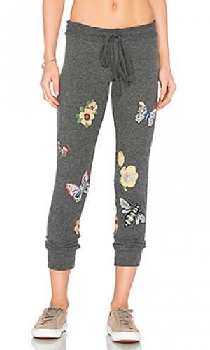 Классические спортивные брюки kizzy Lauren Moshi. Цвет: уголь
