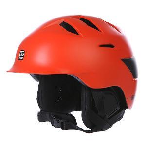Шлем для сноуборда  Rollins Satin Liner Orange/Black Bern. Цвет: оранжевый