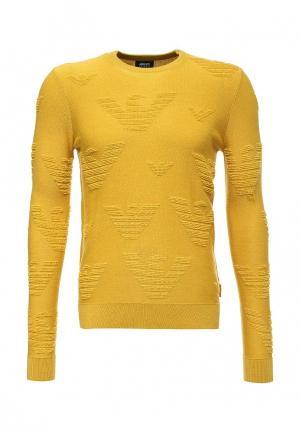 Джемпер Armani Jeans. Цвет: желтый