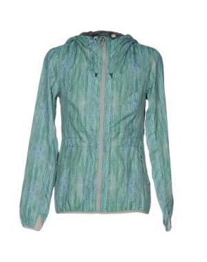 Куртка BENCH. Цвет: зеленый