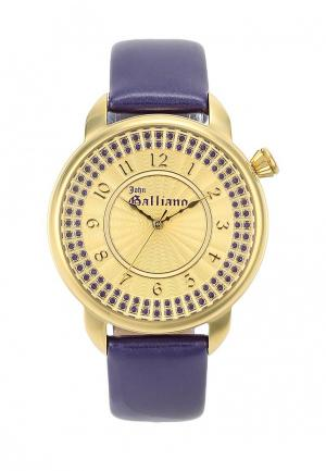 Часы Galliano. Цвет: фиолетовый