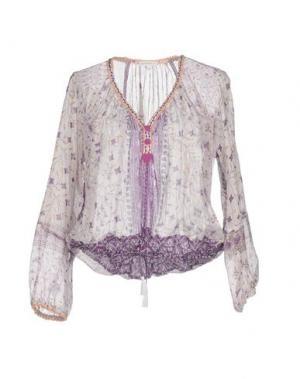 Блузка POUPETTE ST BARTH. Цвет: сиреневый