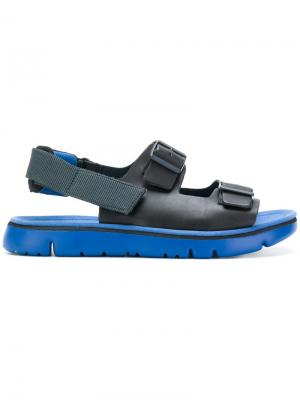 Ridged sole sandals Camper. Цвет: чёрный