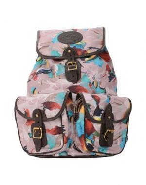 Рюкзаки и сумки на пояс BASSO & BROOKE. Цвет: пастельно-розовый