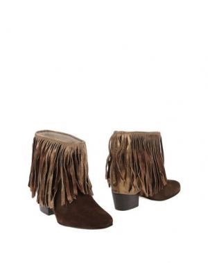 Полусапоги и высокие ботинки MR. WOLF. Цвет: хаки