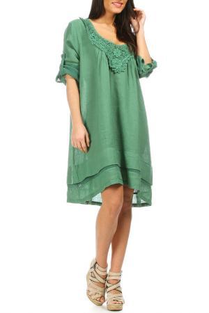 Платье Laklook. Цвет: зеленый