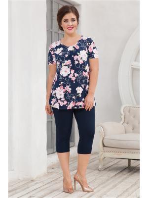 Комплект одежды CLEO. Цвет: синий, розовый