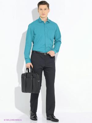 Рубашка Imperator. Цвет: морская волна