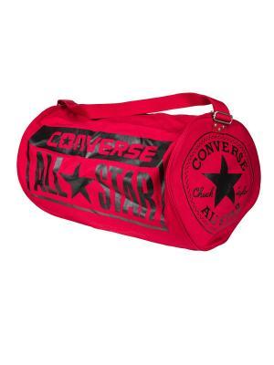 Сумка  LEGACY BARREL DUFFEL BAG Converse. Цвет: красный